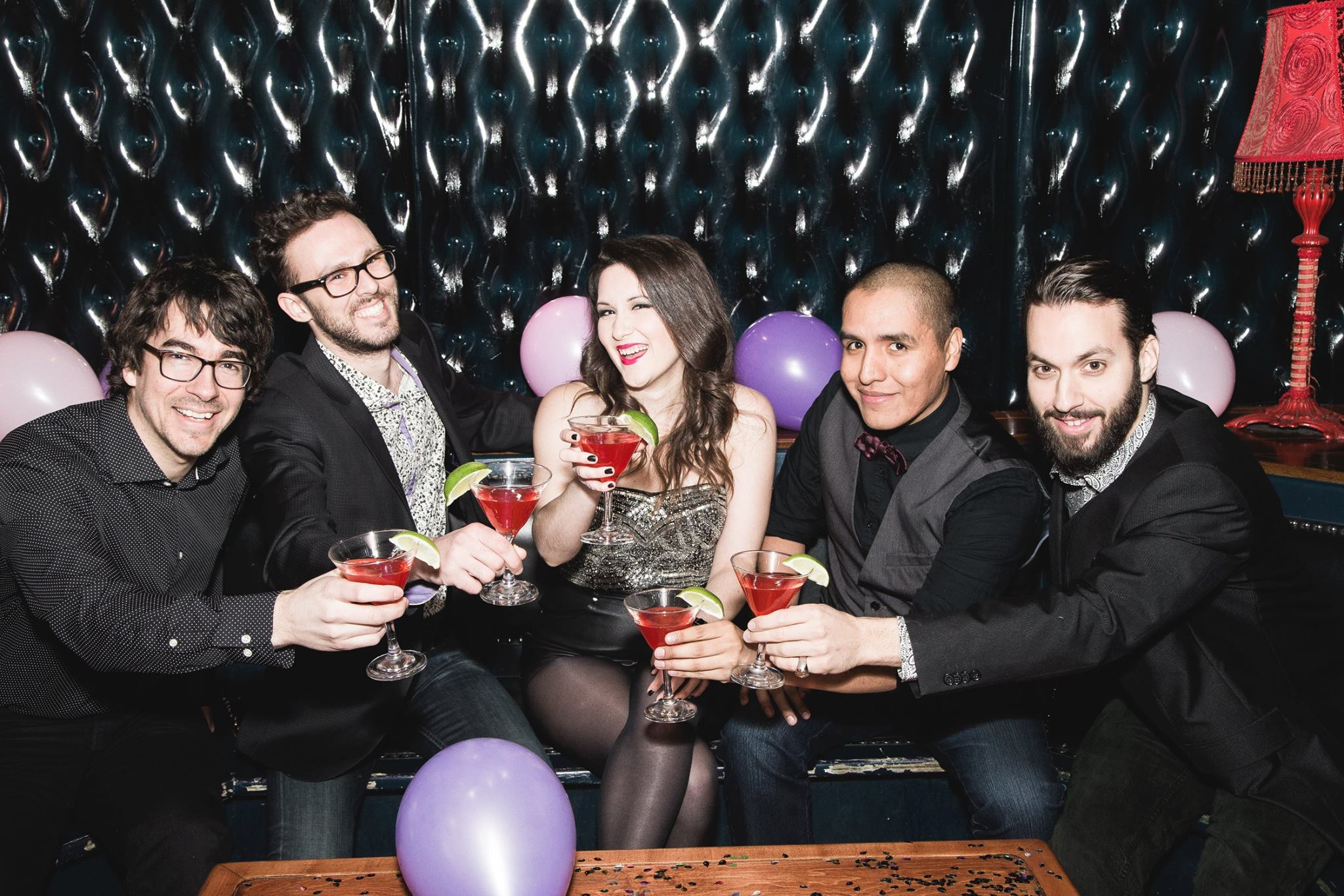 Cosmo Band - groupe pop top 40 - Party de bureau