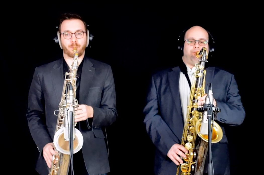 SaxoPop - Spectacle covers pop saxophone