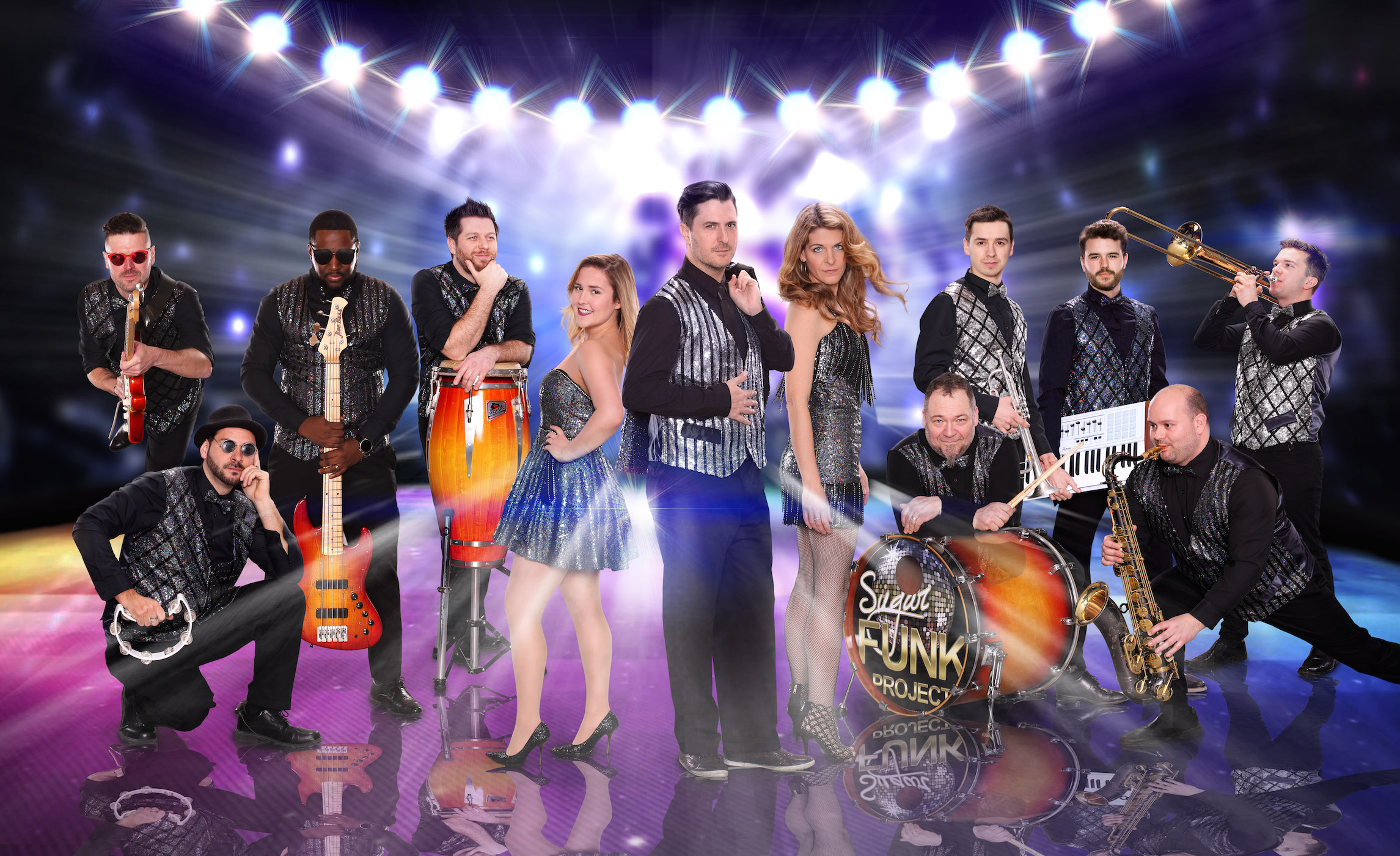 Sugar Funk Project - Showband Top-40 Disco