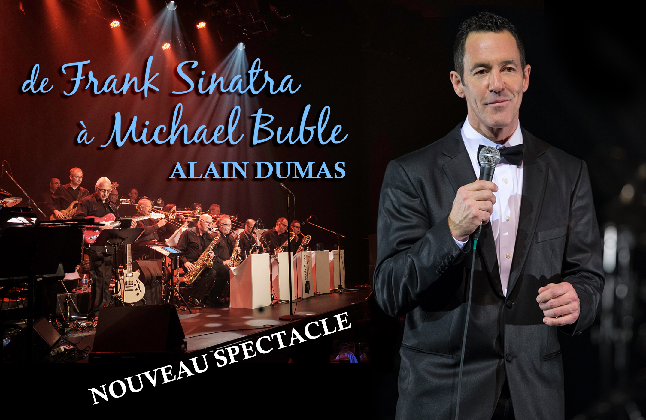 Alain Dumas - Spectacle big band jazz souper