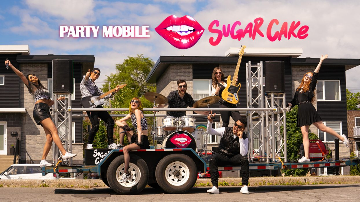 Sugar Cake - Party mobile sur remorque